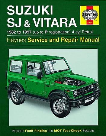 repair manual suzuki escudo