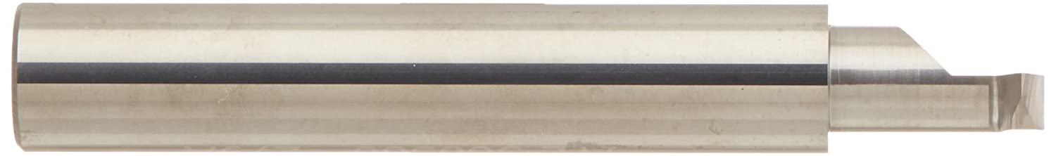 1.000 Maximum Bore Depth 0.075 Projection 0.320 Minimum Minor Diameter Micro 100 ITL-3201000 Left Hand 60/° Internal Single Point Threading Tool Solid Car 2.5 Overall Length 0.043 Offset Point 10 to 32 Threads per Inch 0.750 Shank Diameter