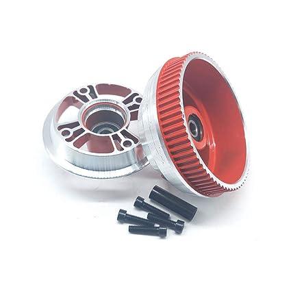 XULONG Neumáticos para Scooter eléctrico, Cubo de Rueda ...