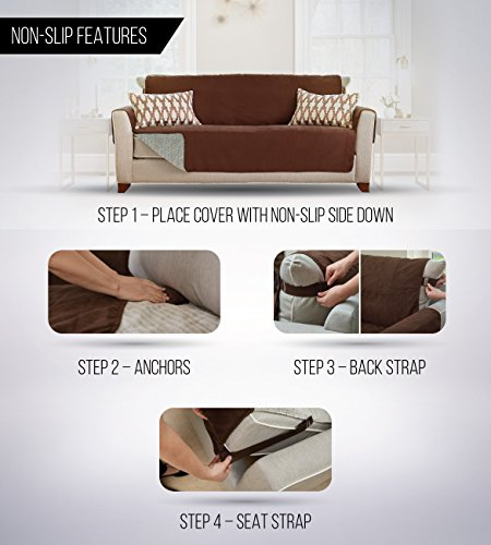 Stupendous Deals On Gorilla Grip Original Slip Resistant Luxurious Andrewgaddart Wooden Chair Designs For Living Room Andrewgaddartcom