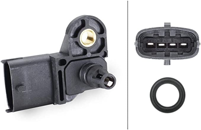 Hella 9400291 6pp 9 400 291 Sensor Boost Pressure 5v With Seal Auto