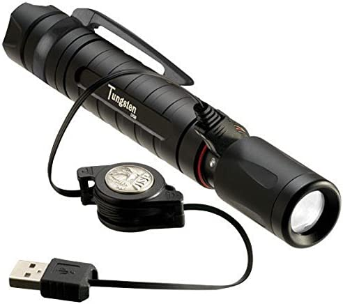 ASP Pro DF Rechargeable Flashlight with US Charge Kit 5 Mode programmable 430 lumens