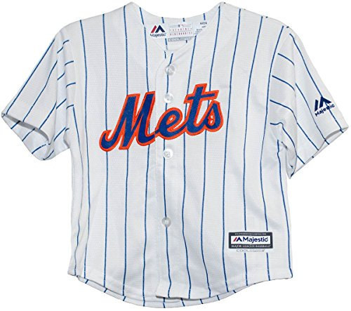 New York Mets Home Cool Base Child Jersey (Medium (5/6))