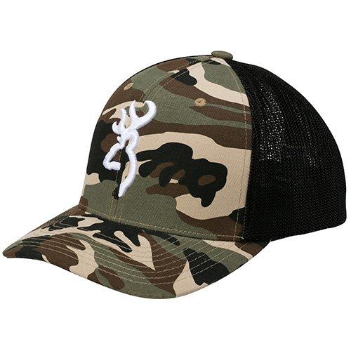 Browning Colstrip Mesh Cap, Camouflage, Small/Medium