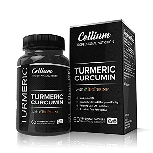 Turmeric Curcumin Capsules - RELIEVES Joint Pain and REDUCES Inflammation - All Natural Anti-Inflammatory Supplement with BioPerine for Increased Absorption | 95% Curcuminoids