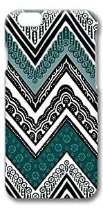 iPhone 6 Case, Custom Design Covers for iPhone 6 3D PC Case - Black Green