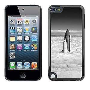 All Phone Most Case / Oferta Especial Duro Teléfono Inteligente PC Cáscara Funda Cubierta de proteccion Caso / Hard Case Apple iPod Touch 5 // Space Shuttle Clouds