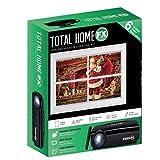Total HomeFX Seasonal Scene Indoor Mini Christmas Holiday Projector Window Home Decorating Kit