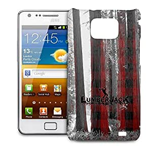 Phone Case For Samsung Galaxy S2 i9100 - Lumberjack Glossy Cover