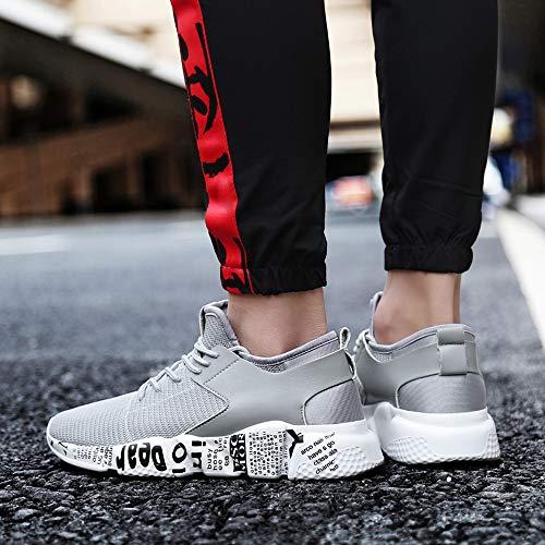 Alikeey Mesh De Gris Tacon Soleils Courir Sport Up Confortable Casual t Hommes Outdoor Lace Chaussures qr5qA