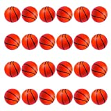 Mini Foam Basketball Stress Balls (24 Pack)