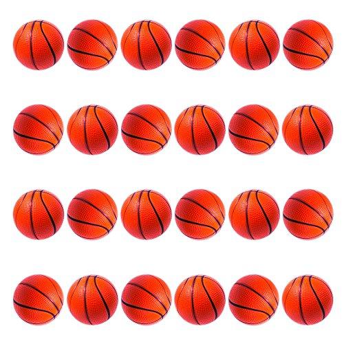 Mini Foam Basketball Stress Balls (24 Pack) ()