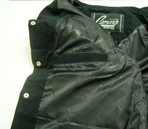 J.H. Design JH Design Chevy Camaro Cotton Twill Jacket, XXX-Large, Black by J.H. Design (Image #3)