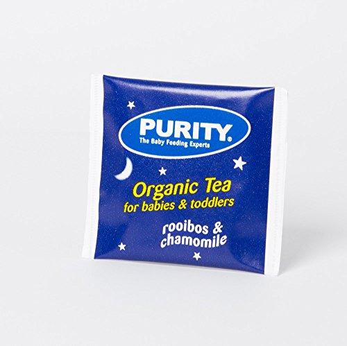 Purity Rooibos & Chamomile Organic Tea - Caffeine Free with Chamomile to help your baby sleep