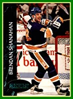 1992-93 Parkhurst Emerald Ice #156 Brendan Shanahan st. louis blues