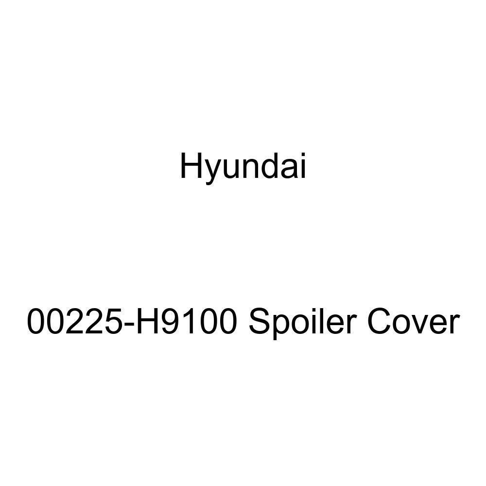 Genuine Hyundai 00225-H9100 Spoiler Cover