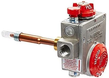 Robertshaw 110 - 326 - Calentador de agua termostato con 1 ...