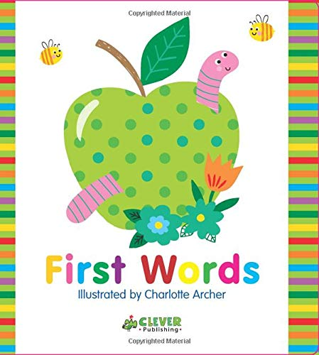 (First Words (Clever Colorful Concepts) )