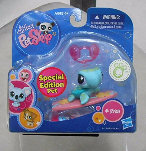 Littlest Pet Shop: Special Edition Sea Turtle (#1325) Comes With Goggle And Lily Pad