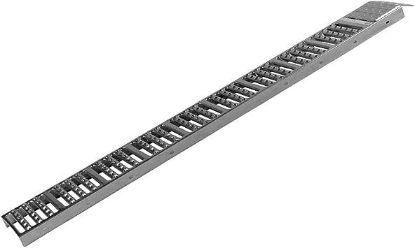 Auffahrrampe Stahl 180 X 26 Cm 225 Kg Traglast 1 Stück Verladerampen Laderampe Auffahrschiene Rampe Hebebüne Auffahrrampe Kfz Rampe Baumarkt