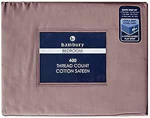 Bambury 400 Thread Count Sheet Set, King, Elderberry