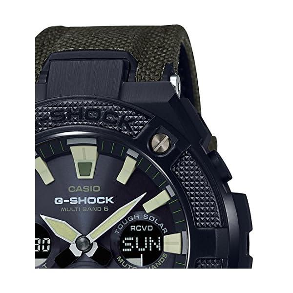 Casio Reloj Analógico para Hombre de Cuarzo con Correa en Plástico GST-W130BC-1A3ER 3