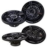 Crunch 300 Watts 6.5-Inch + 400 Watts 6 x 9 Inches CS Speakers