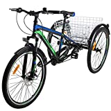 VANELL Adult Mountain Tricycle 20/24/26 in 1