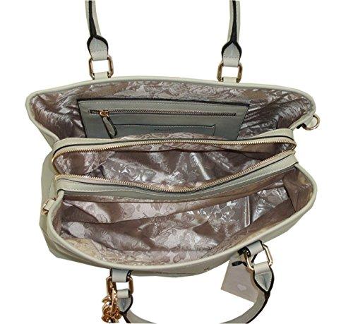 Borsa shopping BLUGIRL by blumarine BG 829005 women bag grigio saffiano pvc
