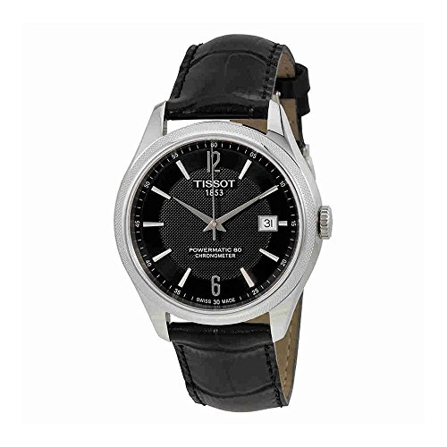Tissot T-Classic Ballade Automatic Black Dial Mens Watch T108.408.16.057.00