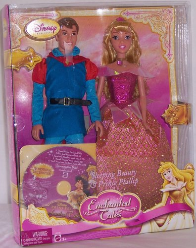Disney Enchanted Princess Sleeping Beauty and Prince Phillip Gift Set -