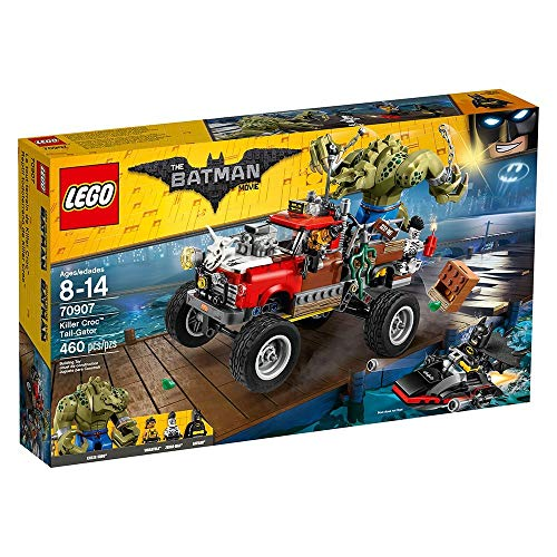 LEGO Batman Movie Killer Croc Tail-Gator 70907 from LEGO