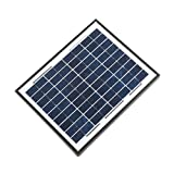 ALEKO SP10W12VP 10 Watt 12 Volt Polycrystalline Solar Panel for Gate Opener Pool Garden Driveway