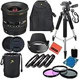 Sigma 10-20mm f/4-5.6 EX DC HSM Lens for Canon Digital SLR Cameras - Professional Kit