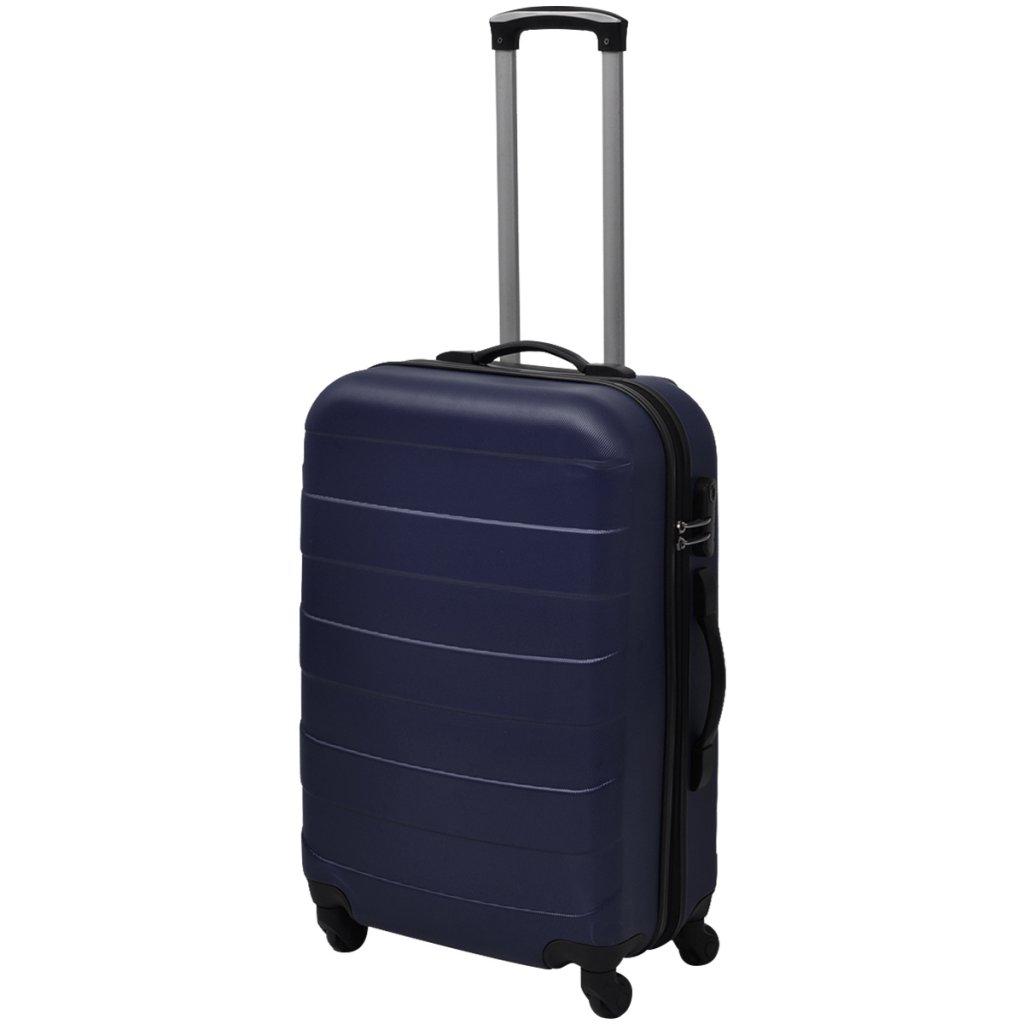 Color de Azul Material de ABS Festnight Set de Trolley Maleta R/ígida Juego de 3