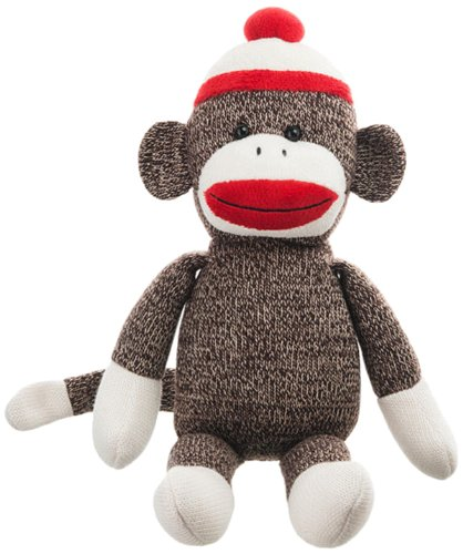 Amazon Com Webkinz Knit Sock Monkey Plush Toys Games