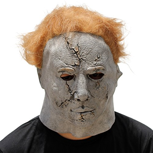 CREATOR Horror Movie Halloween Meijie Michael Myers Bad face Mask Adult Party Masquerade Cosplay - Best Michael Myers Halloween Costume