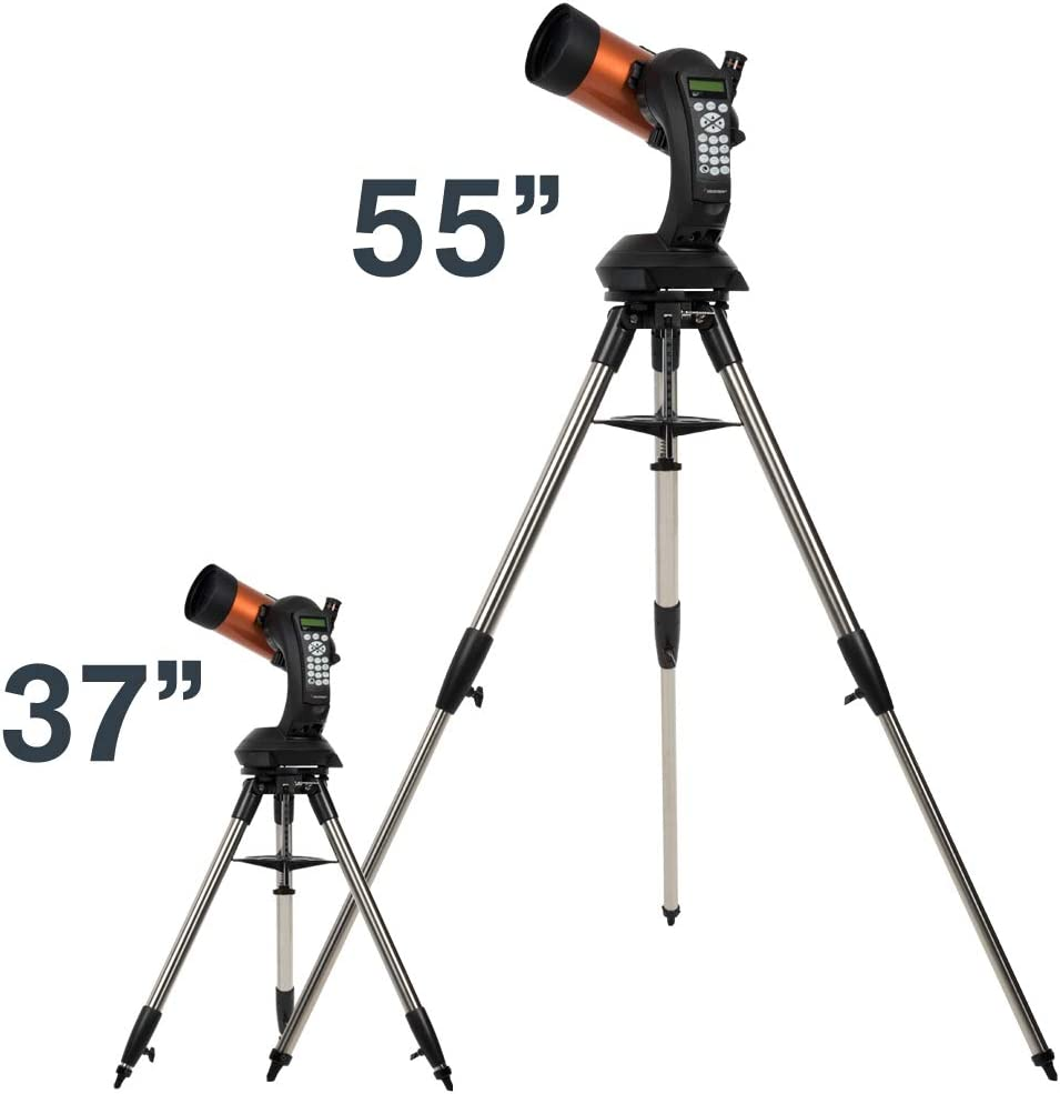 Celestron NexStar 5 SE Negro y Naranja Telescopio computarizado de 5