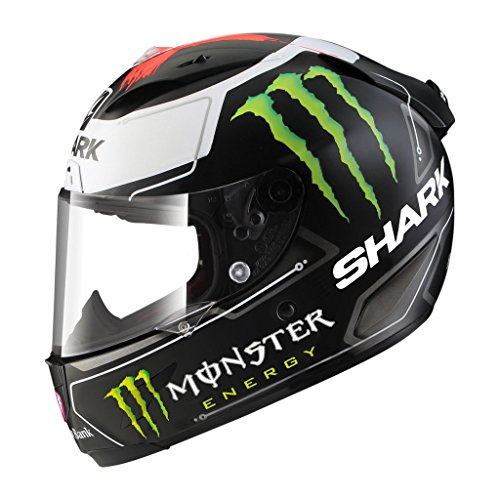 (Shark Unisex-Adult Full Face Race-R Pro Helmet (Lorenzo, Large))