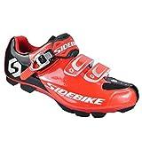 Cycling Shoes Road Lock Shoes Leisure Sports Shoes Mountain Bike Riding Shoes Cross-Trainer Shoes Men Women Unisex Couple (Green, 40)