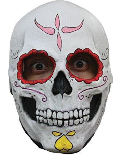 Ghoulish Costumes (Catrina Skull Mask)