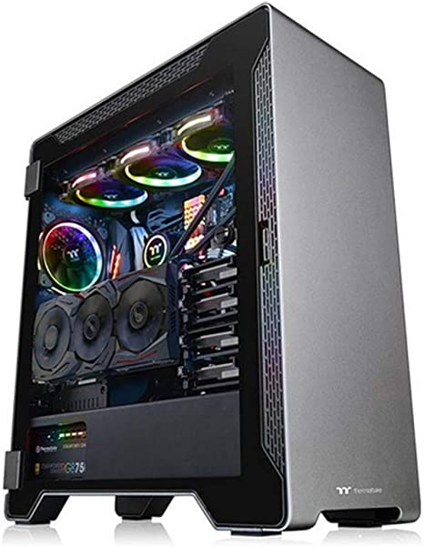 Thermaltake A500 TG - PC Case/Caja de PC para Gaming, Color Negro: Thermaltak: Amazon.es: Informática