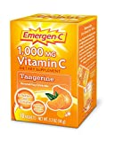 Emergen-C 1000 mg Vitamin C Travel Box, Tangerine 10 packets Pack of 2