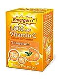 Emergen-C 1000 mg Vitamin C Travel Box, Tangerine 10 packets Pack of 5