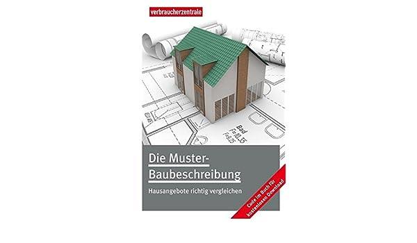 die muster baubeschreibung 9783936350654 amazoncom books - Baubeschreibung Muster Kostenlos