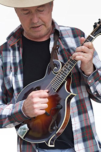 The Feather A-Style Mandolin Pickup with Flexible Micro-Gooseneck by Myers Pickups ()