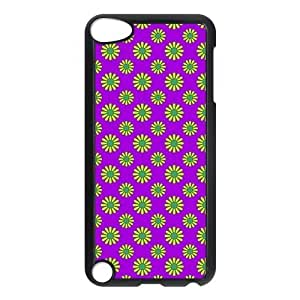Hippie Pattern Protective Hard PC Back Fits Cover Case for iPod Touch 5, 5G (5th Generation)