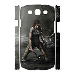 FLYBAI Rise Of The Tomb Raider Lara Croft Phone 3D Case For Samsung Galaxy S3 I9300 [Pattern-2]
