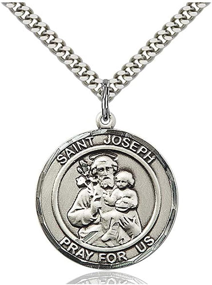 Joseph Pendant DiamondJewelryNY Sterling Silver St