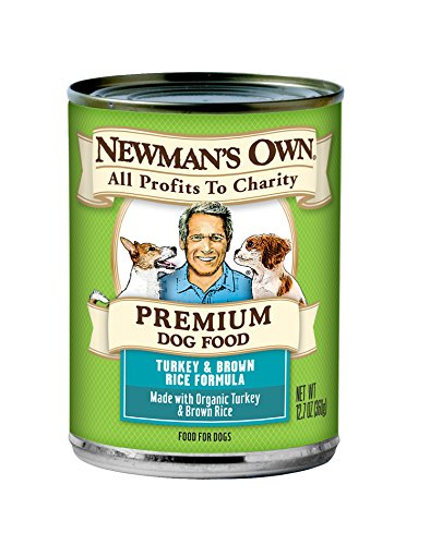 Newman's Own Turkey & Brown Rice Formula for Dogs, 12.7-Ounce Cans (Pack of (Organic Pet Food)